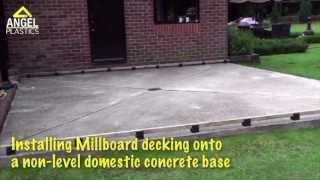 Millboard decking online at angel plastics