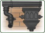 Replica Cast Iron Gutters & rainwater Pipes