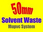 50mm solvent weld mupvc system