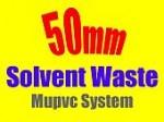 50mm solvent weld mupvc system