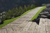 millboard weathered enhanced grain decking