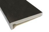 16mm black upvc fascia board