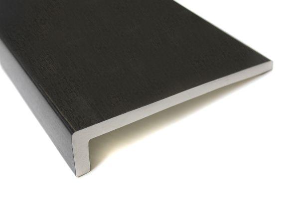 9mm black upvc fascia board