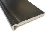 upvc black ogee fascia boards