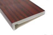 mahogany upvc fascias