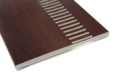 9mm rosewood vented upvc soffits