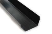 black upvc square gutters