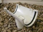 white polyflow polypipe gutters