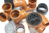 110mm underground drainage pipe & fittings