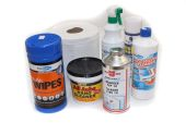 cleaners glues silicones foam fillers