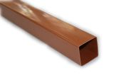 light oak caramel rainwater downpipe