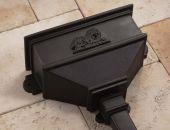 cast iron replica rainwater hopper head