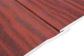 mahogany upvc shiplap cladding