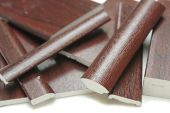 rosewood upvc window trims