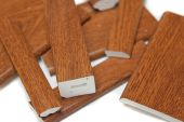 upvc golden oak window trims