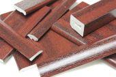 upvc mahogany window trims