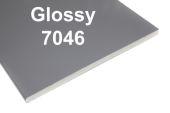 hazy grey soffit RAL 7046 plastic soffit