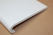 white upvc window capping boards