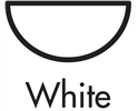 white half round floplast gutters