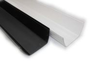 Floplast square rainwater gutters