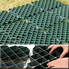 ground lawn paving reinforced tiles