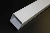 white square rainwater pipe