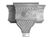cast aluminium hopper head heritage
