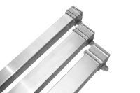 square rectangular aluminium rainwater downpipes