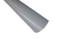 grey gray half round polypipe gutters