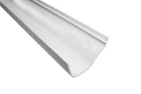white polypipe ogee plastic gutters