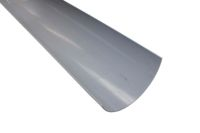 grey industrial 150mm polypipe guttering