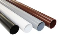 round upvc 68mm rainwater pipes