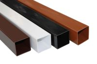 square upvc rainwater pipes