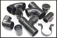 plumbers waste ABS Floplast Solvent 50mm black