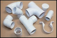 plumbers waste ABS Floplast Solvent 50mm white