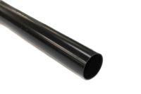 black 68mm rainwater downpipes