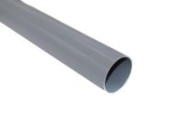 grey 68mm rainwater downpipes