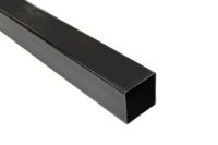 black 65mm square pipe