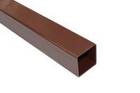 brown square terrain rainwater downpipe