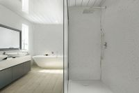 One metre wide mega shower panelling