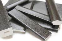 black upvc window trims