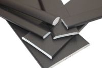 smooth black upvc window trims