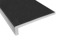 9mm black upvc fascia board