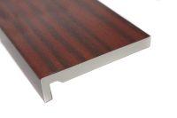 mahogany upvc fascia board