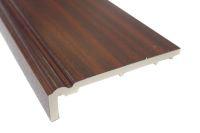 mahogany upvc ogee fascia board