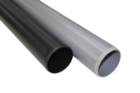 82mm round upvc pipes