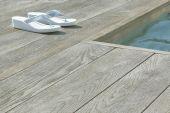 enhanced grain millboard decking