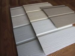 Durasid embossed siding cladding