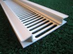 continuous soffit vent in upvc