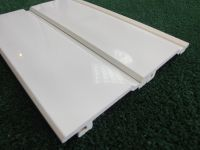 white upvc plastic cladding